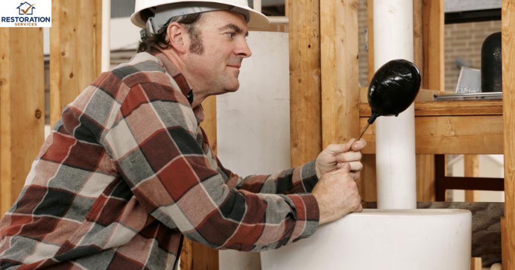 Plumbing A Toilet