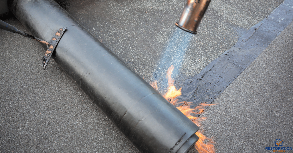 Torch Down Roofing Repair