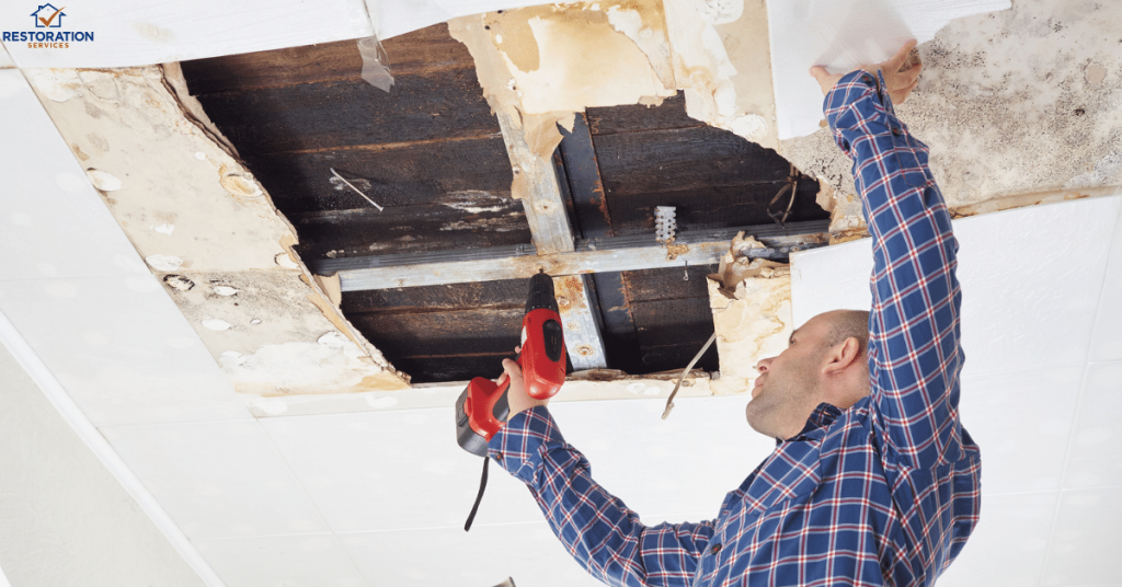 Repairing Water Damaged Drywall